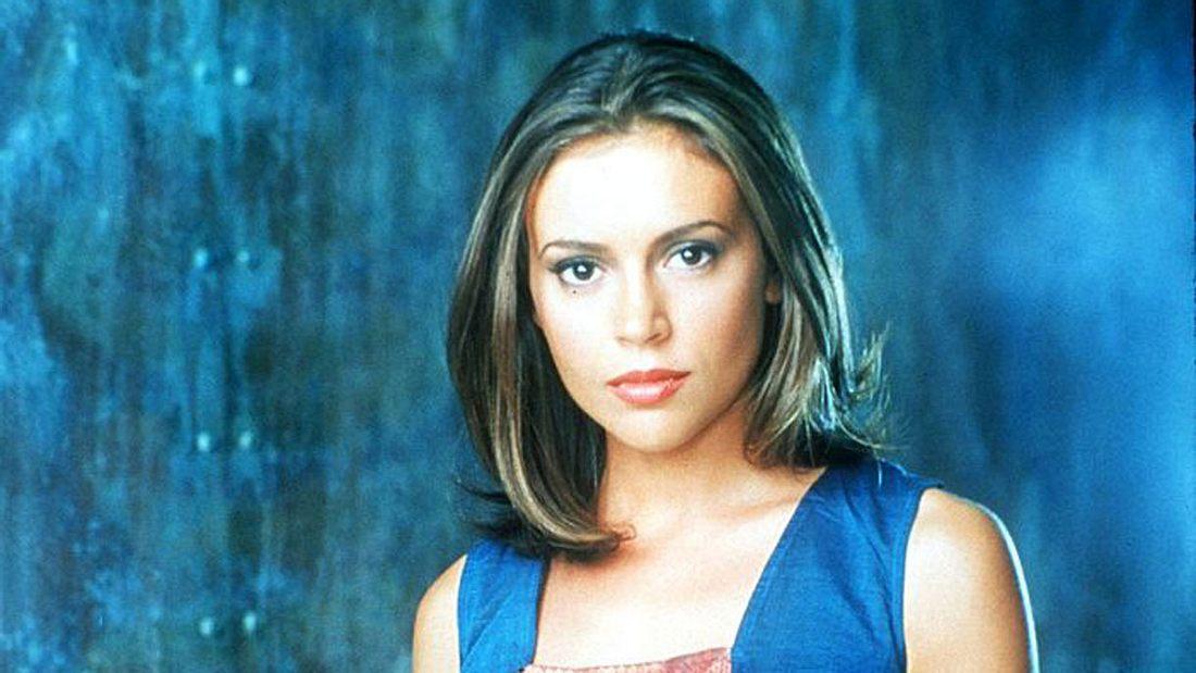 Alyssa Milano in Charmed im Jahr 1999.