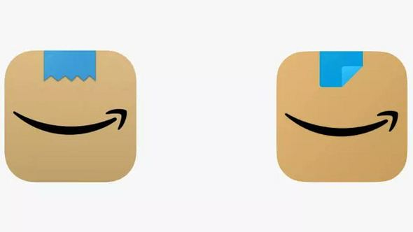 Das neue Amazon App-Icon - Foto: Amazon