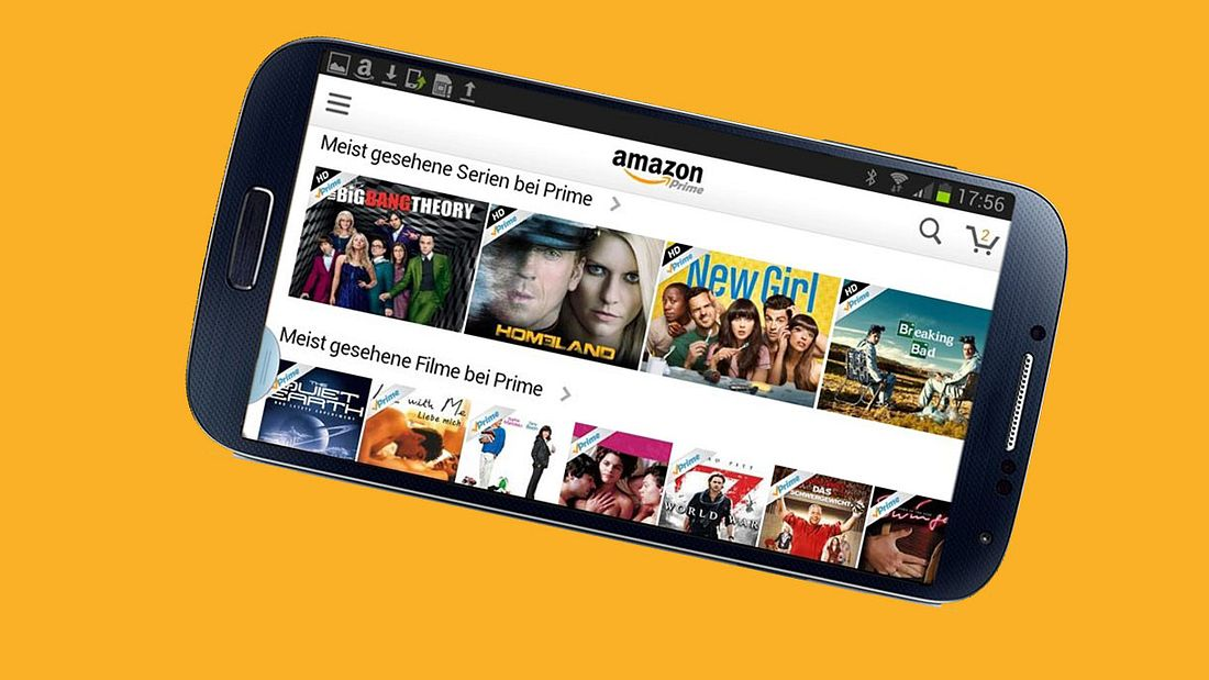 Amazon Prime Video App: So lassen sich Filme downloaden