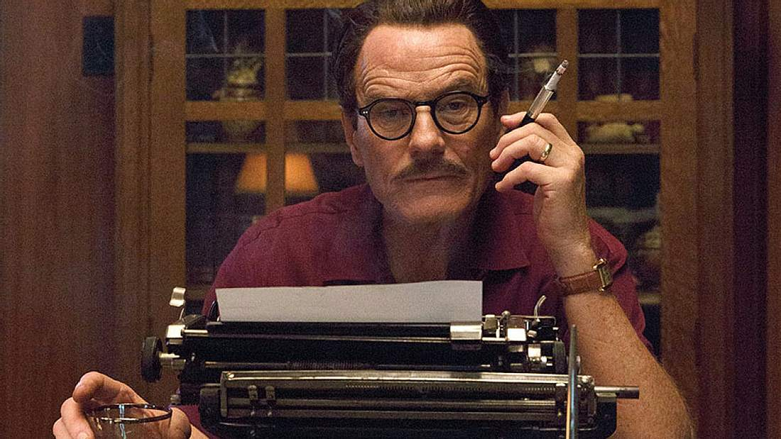 Bryan Cranston im Biopic Trumbo - ab Januar 2017 auf Amazon Prime Video