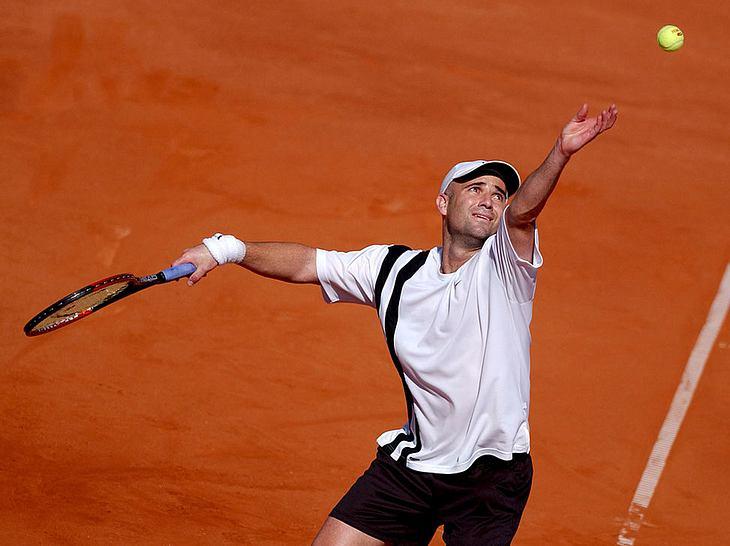 Andre Agassi ist und bleibt eine Ikone im Tennis