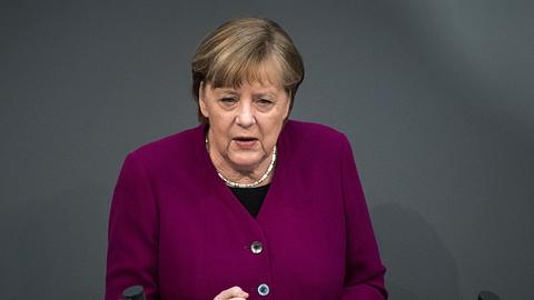 Angela Merkel - Foto: Getty Images / Stefanie Loos