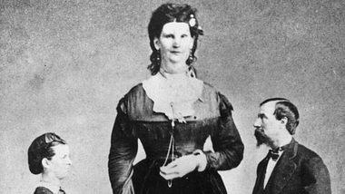 Anna Swan aka Anna Bates - Foto: Getty Images / Hulton Archive
