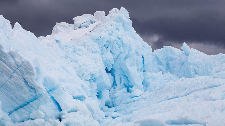 In der Antarktis wurden die kältesten Temperaturen gemessen