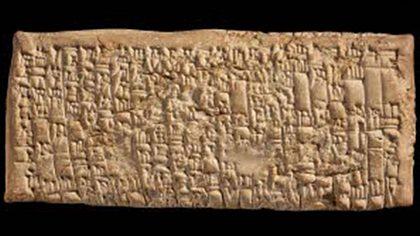 Die älteste Kundenbeschwerde der Welt - Foto: British Museum