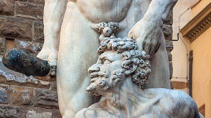 Statue von Hercules und Cacus, Piazza della Signoria - Foto: iStock / minoandriani