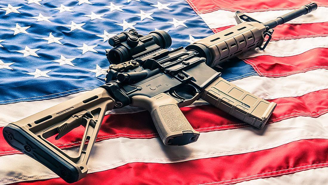 Halbautomatisches Sturmgewehr AR-15