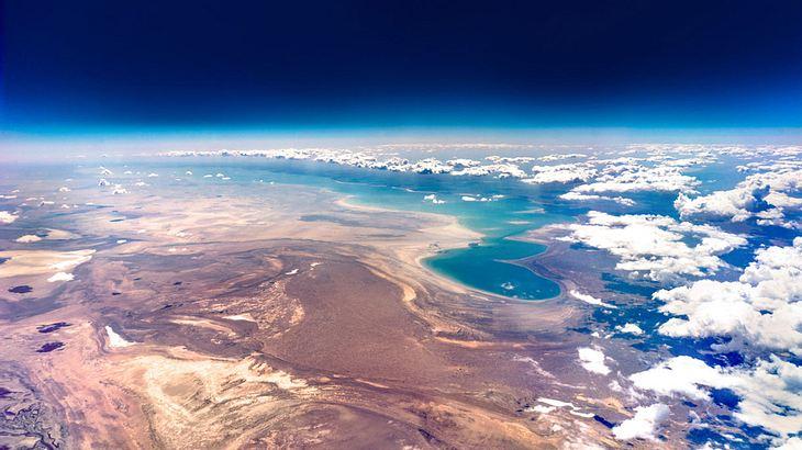 Der Aralsee, oder das, was noch von ihm übrig ist