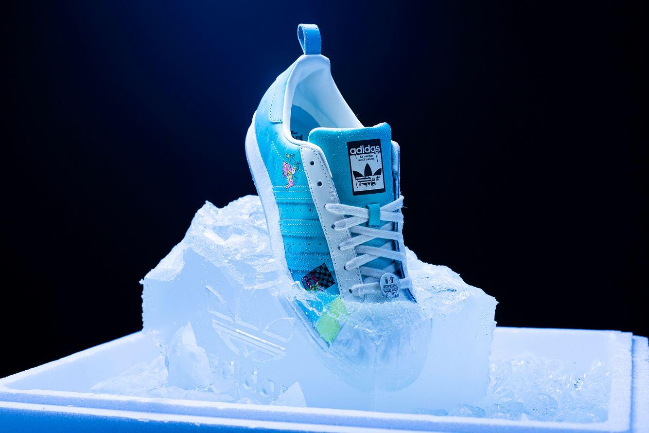 Schuh aus der Kollektion von AriZona Iced Tea und adidas Originals
