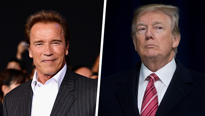 Arnold Schwarzenegger und Donald Trump - Foto: Getty Images / Jason Merritt/TERM ; SAUL LOEB