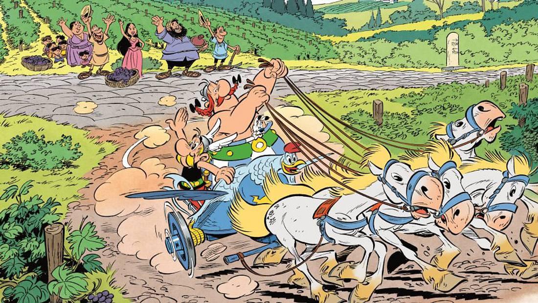 Neuer Asterix-Comic: Asterix und Obelix in Italien