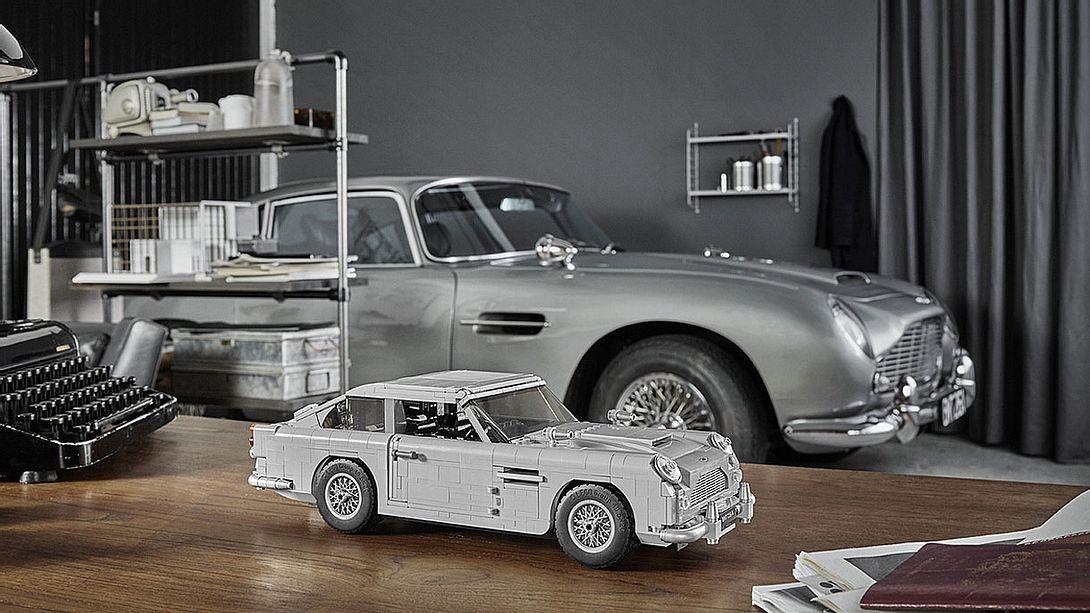 Aston Martin DB5 als LEGO-Bausatz - Foto: LEGO