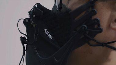 China: Dieser Designer stellt Atemmasken aus Sneakern her