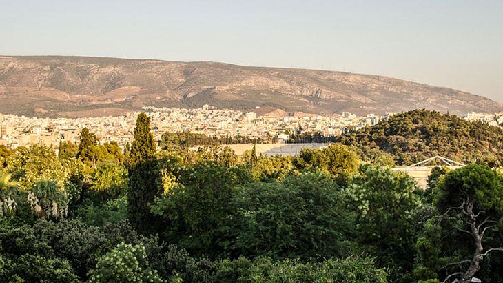 Der Nationalpark Ethnikos Kipos in Athen