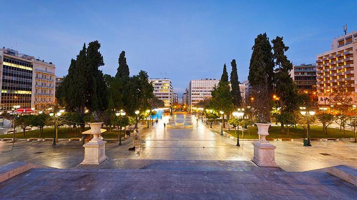 Der Syntagma-Platz in Athen