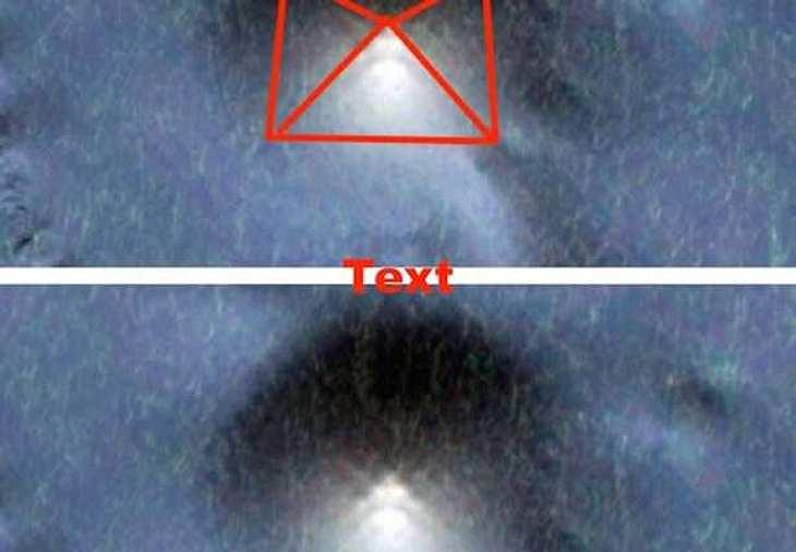 Zeigt dieses Bild eine UFO auf dem Grund des Pazifik?