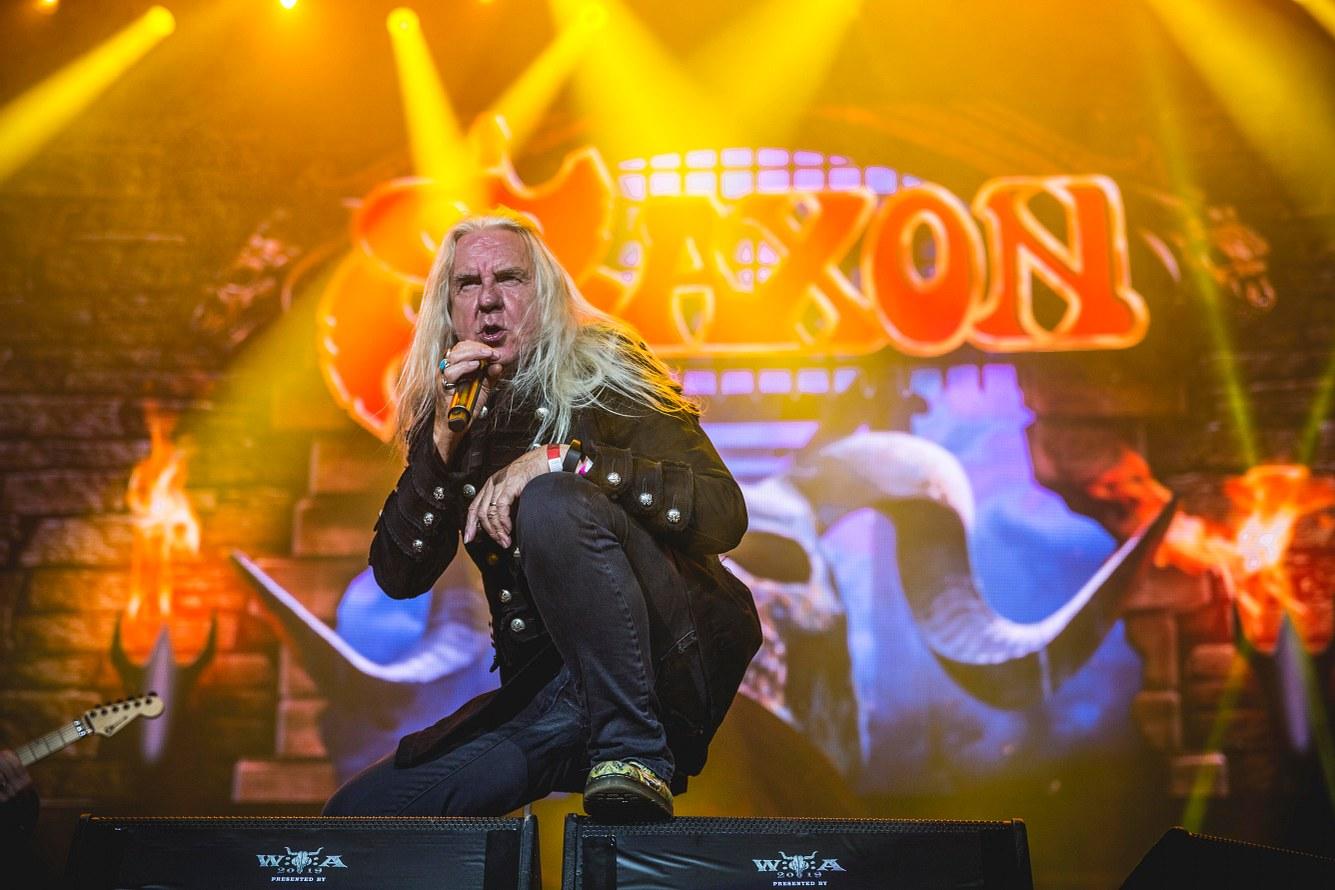 Auftritt Saxon, Wacken 2019
