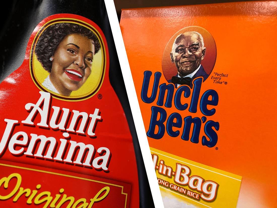 Aunt Jemima und Uncle Ben
