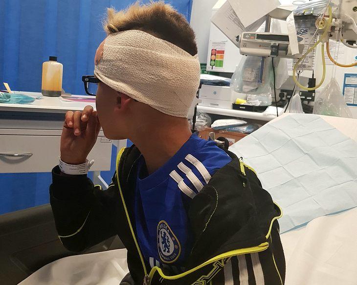 Romeo Smith: Autist wird von Schlägern mit Nagelbrett attackiert