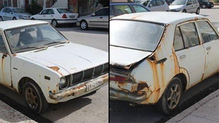 Mann vergisst, wo er sein Auto geparkt hat – findet es zwanzig Jahre später