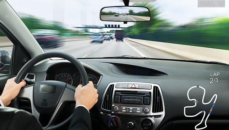 Gamer sind bessere Autofahrer