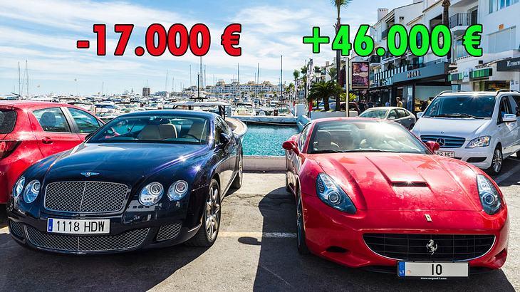 Große Unterschiede bei der Gewinnmarge der einzelnen Autohersteller