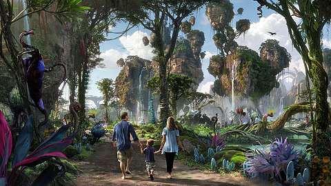 Pandora - The World of Avatar: In Disney World Orlando wird im Sommer 2017 in Navi-inspirierter Vergnügungspark eröffnet  - Foto: Disney