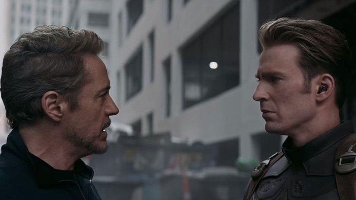 Neuer Avengers 4 Trailer Iron Man Und Captain America Treffen Auf