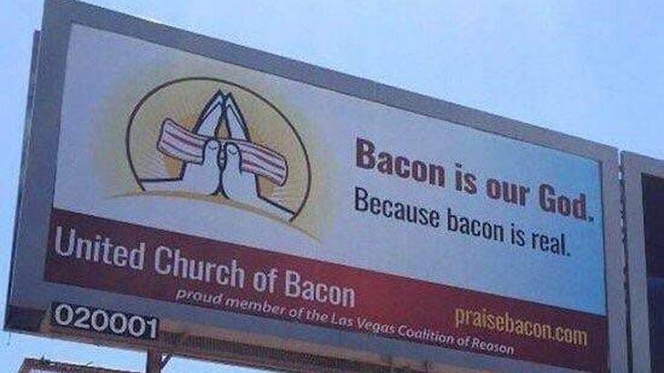 United Church of Bacon: Diese Kirche betet Bacon an