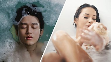 Ein heißes Bad ist Gesund und verbrennt Kalorien - Foto: Pixabay; iStock / gilaxia