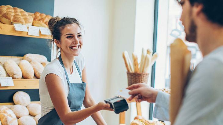 Kein Bock auf Kleingeld: Diese Bäckerei setzt auf Kreditkarte