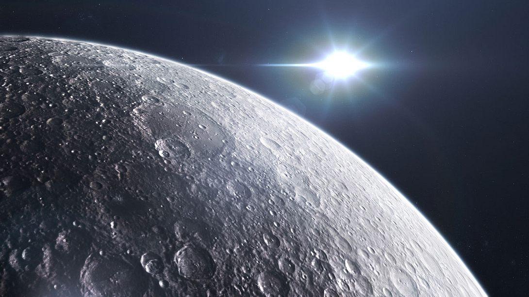 Lebewesen auf dem Mond? - Foto: iStock/slavemotion