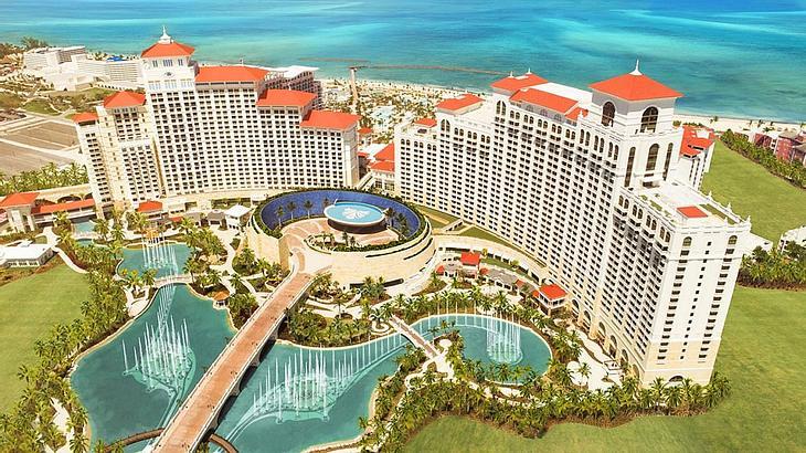 Das Baha Mar Hotel auf den Bahamas