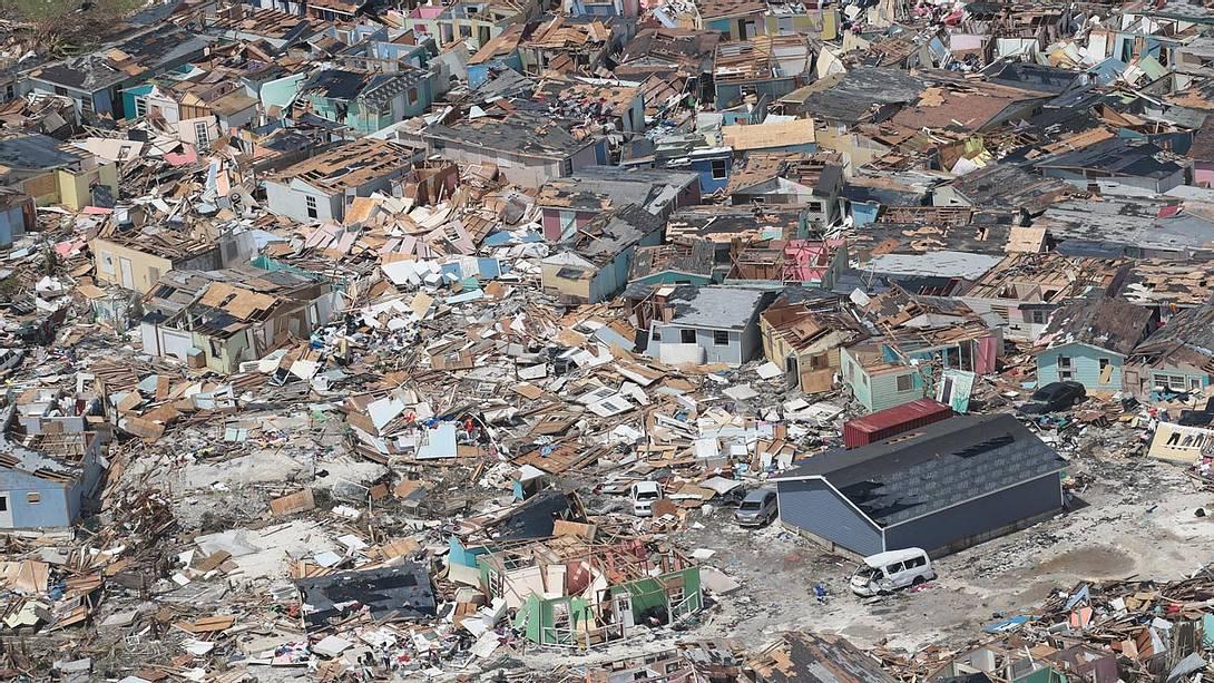 Bahamas: Totale Zerstörung durch Hurrikan Dorian - Foto: Getty Images / Scott Olson