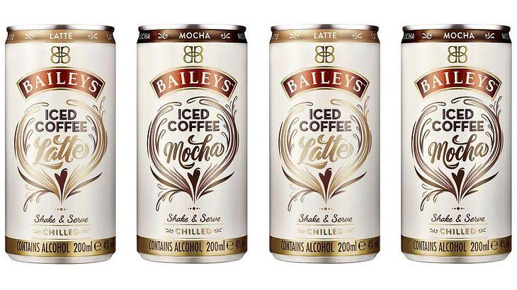 Neuer Eiskaffee aus der Dose: Bailey's Iced Coffee