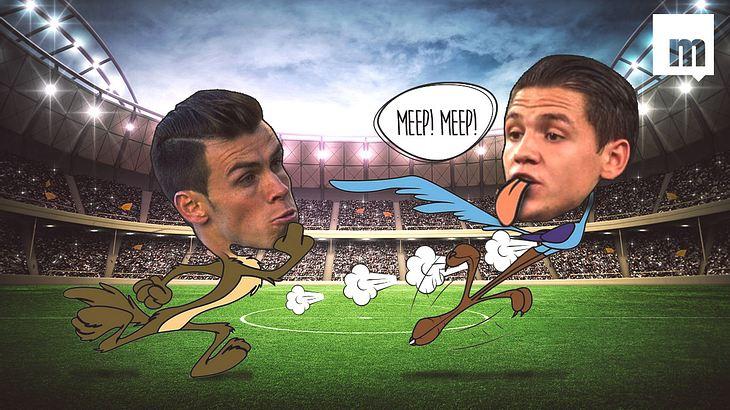 Wer gewinnt das Sprintduell: Gareth Bale oder Muhamed Besic?
