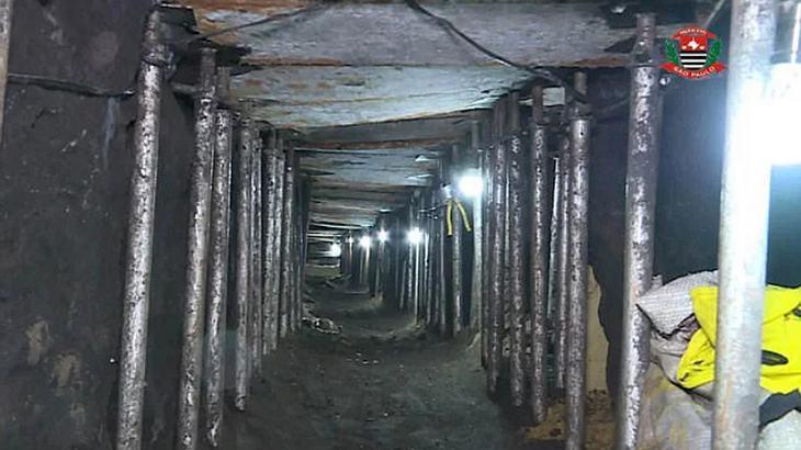 Bankraub: Gangster graben monatelang Tunnel