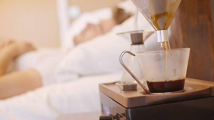 im schlaf kaffee kochen mehr geht nicht foto the barisieur