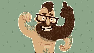 Laut einer Studie haben Männer mit Bart mehr Sex als Glattrasierte  - Foto: iStock/IvanNikulin