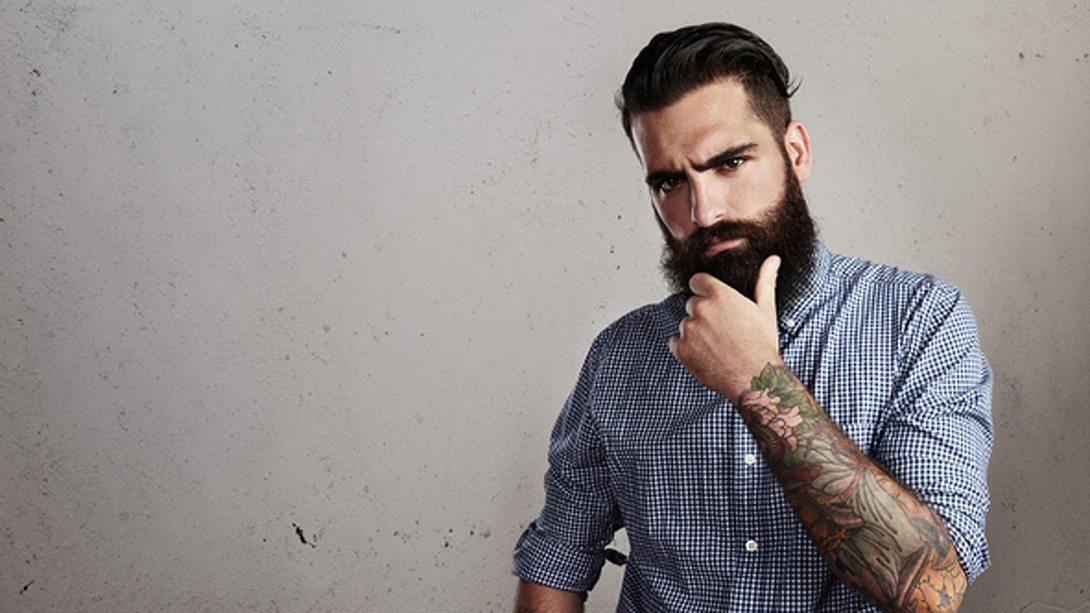 Bartfrisuren: Der Hipster Bart - Foto: iStock/Pinkypills