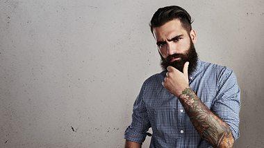 Der Hipster-Bart: Mode-Mann züchtet Vollbart