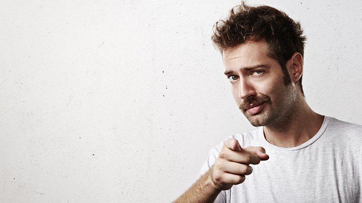 Bartfrisuren: Der Schnurrbart auch Moustache genannt