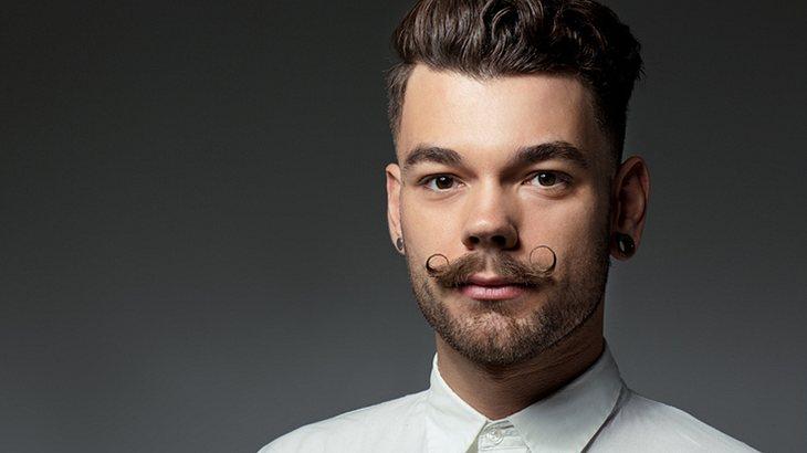 Bartfrisuren: Moustache gezwirbelt