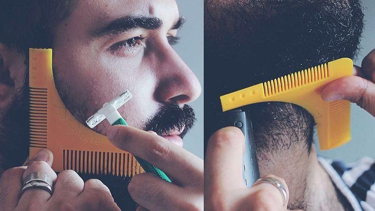 Der Bartkamm für die Konturen: Groomarang