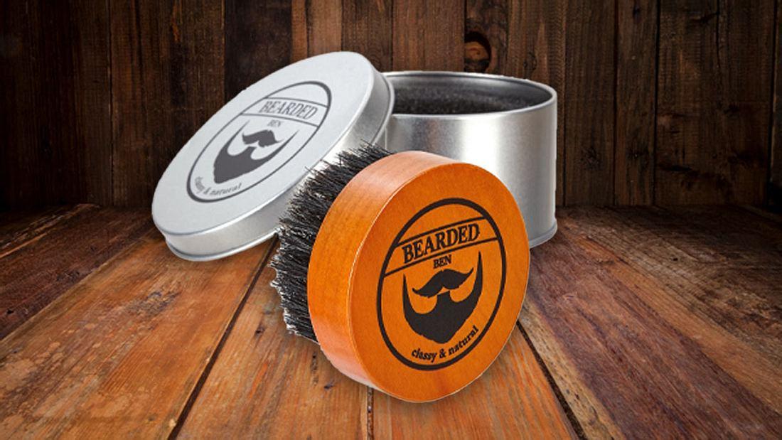 Bartpflege: Bartbürste