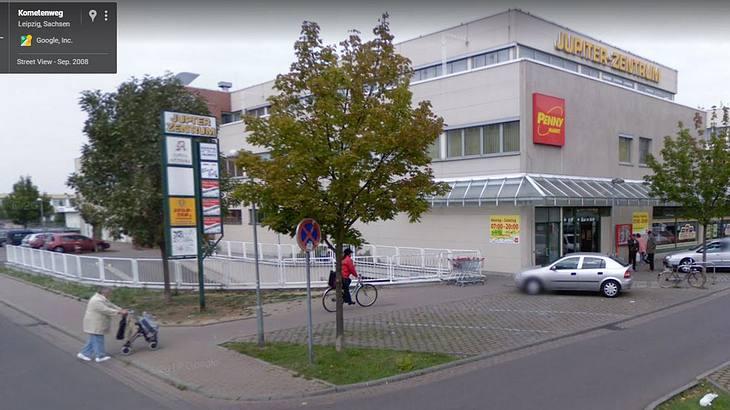 """""""Baum vor Penny"""": Leipzigs neue Sehenswürdigkeit"""