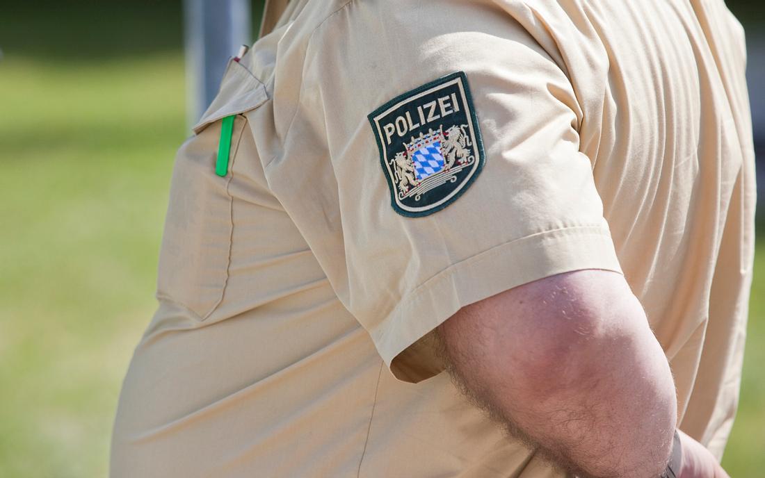 Bayerischer Polizist