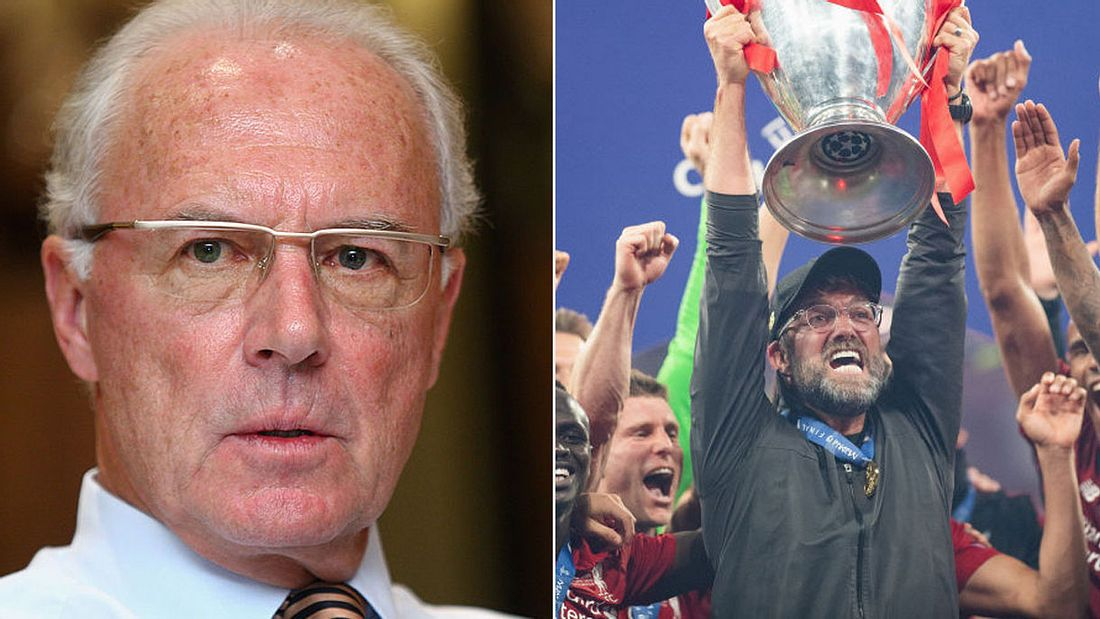 Franz Beckenbauer will Jürgen Klopp beim FC Bayern (Collage).