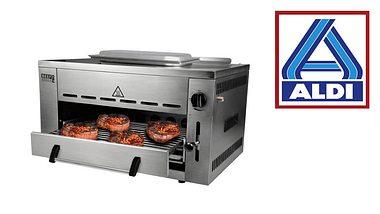 Der Beef Maker Pro-Hochtemperaturgrill von Aldi. - Foto: Aldi
