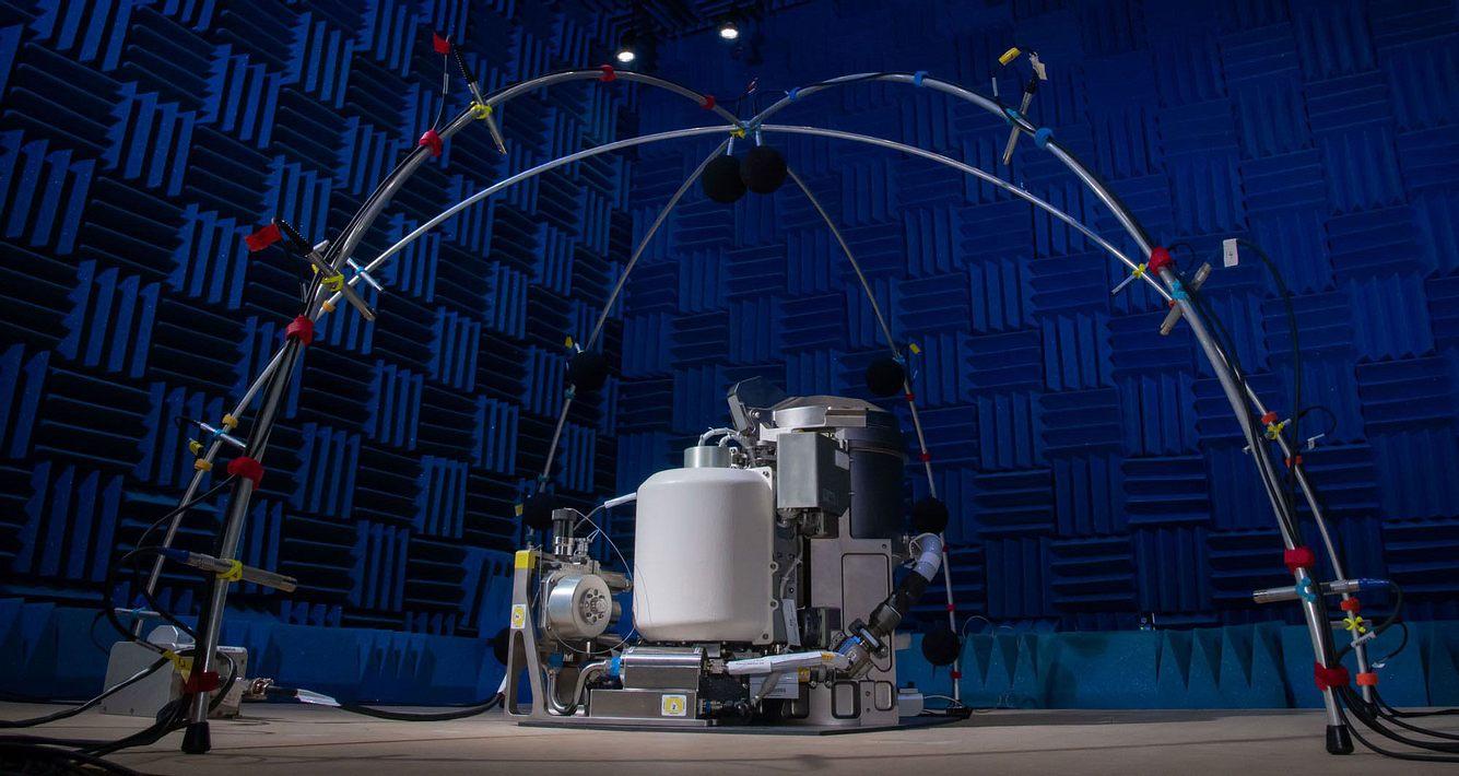 Weltraum-Toilette der NASA